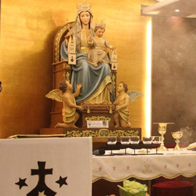 Carmelites Discalced Friars Monastery (Monastery of Our Lady of Mont Carmel) :  (ديـــر الرهبان الكـــرمليِّين (دير سيدة جبل الكرمل